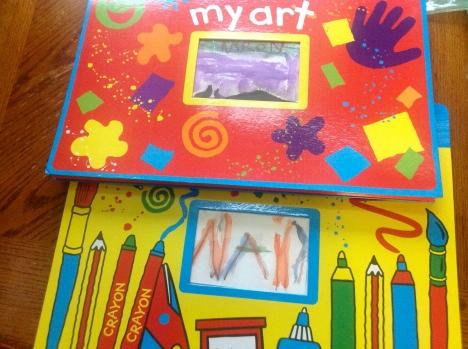 Name cards for art portfolios.